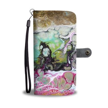 Abstract Color Phone Wallet Case