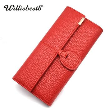 New Design Leather Wallets For Women