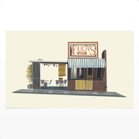 Chris Turnham's Print Shop — Yuca's Taco Stand