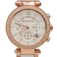 Michael Kors Parker Watch in Metallic Copper