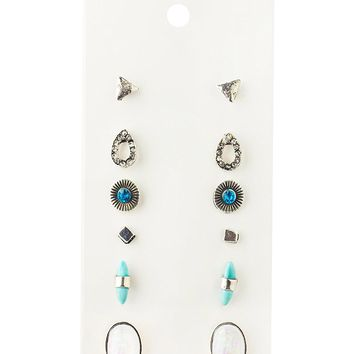 Daycindy Bohemia Retro Good Luck Elephant Drop Earrings suit With Card Jewelry for Women