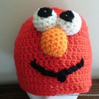Elmo Look Alike Character Hat