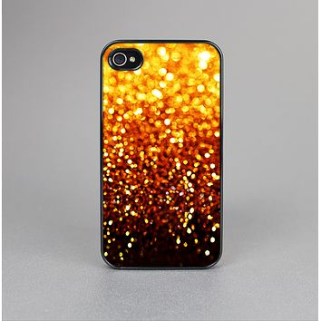 The Faded Gold Glimmer Skin-Sert for the Apple iPhone 4-4s Skin-Sert Case
