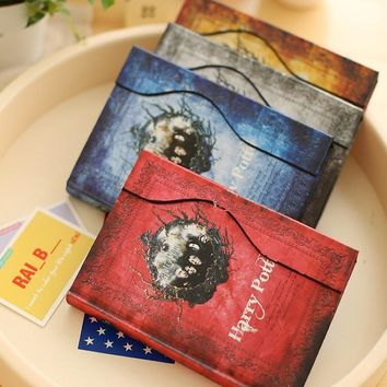 A6 Creative Mini Harry Potter Vintage Agenda 2017 Notebook And Journal For Personal Diary Travelers& Student Japanese Stationery