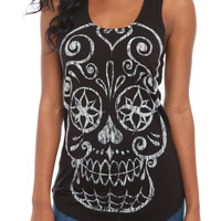 Sugar Skull Tank Top | Hot Topic