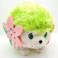 "9"" Pokemon Rare Shaymin Plush Doll Toy New+PB15"