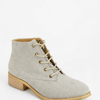 Urban Outfitters - Kimchi Blue Canvas Lace-Up Boot