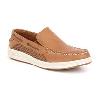 Men's Gamefish Slip On Boat Shoe in Dark Tan by Sperry