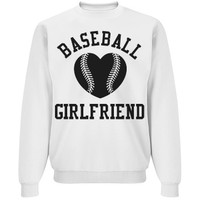 Trendy Baseball Girlfriend Sweater