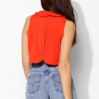 Coincidence & Chance Peter Pan Collar Tank Top - Urban Outfitters