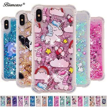 sFor iPhone XS Max Glitter Dynamic Liquid Case For iPod Touch 5 6 Quicksand Cover For iPhone X XS 5 5S SE 6 6S 7 8 Plus Capa B31