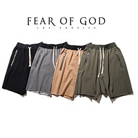 Fear Of God Shorts Women Men 1:1 High Quality 1987 Collection FOG fearofgod Summer Style Fashion Shorts Fear Of God Shorts