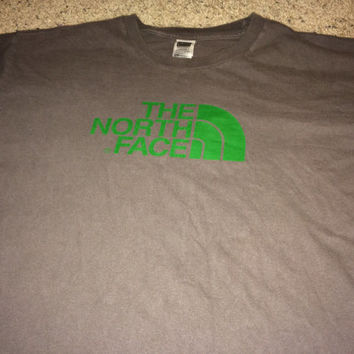 Sale!! Vintage The North Face Casual Shirt Men's TNF North Face Size XXL Free US Shipping