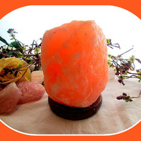 """Soothing & Healing"" Himalayan Rock Salt Lamp"