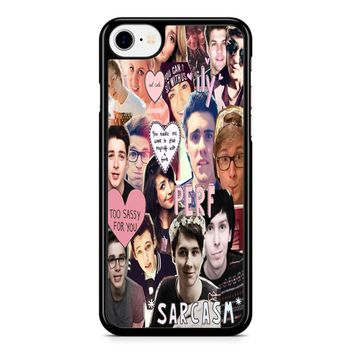 Youtuber Collage 1 iPhone 8 Case