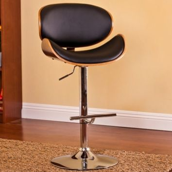 Modern Adjustable Swivel Barstool - 16732973 - Overstock - Great Deals on AC Pacific Bar Stools - Mobile