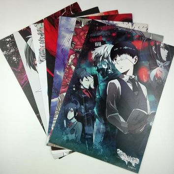 8*(42x29cm)Tokyo Ghoul Anime around poster