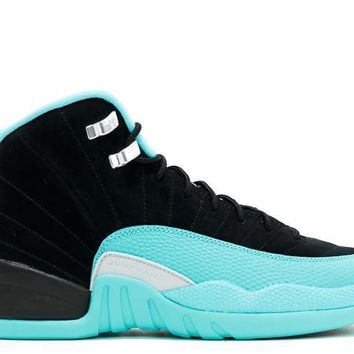 "AIR JORDAN 12 RETRO GG (GS) ""HYPER JADE"""