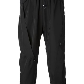 Nasir Mazhar layered design track pants