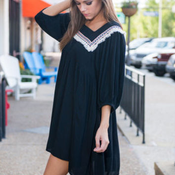 Can't Stop Loving You Dress, Black