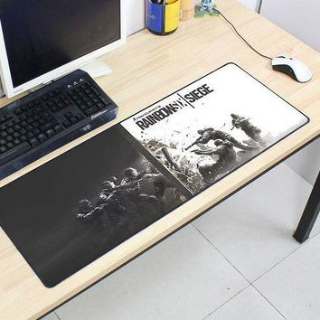 CREYLD1 Rainbow Six Siege mousepad 800x300x2mm pad to mouse computer mouse pad best seller gaming padmouse gamer to keyboard mouse mats