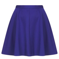 Purple Scuba Skater Skirt - New In This Week - New In - Topshop USA