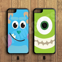 Different  Best Friends Forever Couple Case, Monsters iPhone Case,iPhone 6+/6/5/5S/5C/4S/4