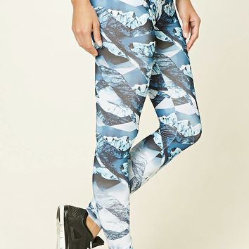 Active Abstract Print Leggings