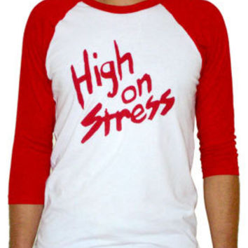 High On Stress Booger Revenge of the Nerds Movie Screenprint Tshirt