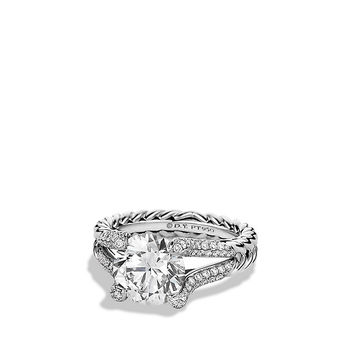 DY Madison Engagement Ring in Platinum