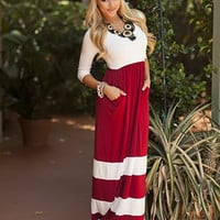 Show Your Stripes Maxi Dress
