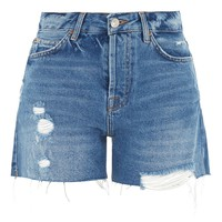 MOTO ASHLEY Boyfriend Shorts | Topshop