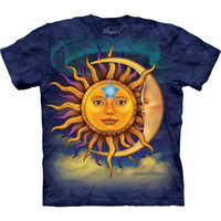 Sun And Moon Tie-Dye T-Shirt