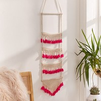 Neon Tassel Wall Hanging | Urban Outfitters