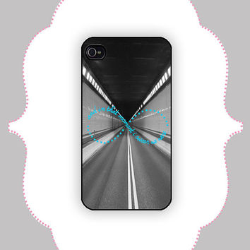 iPhone Case- Wallflower Infinite Quote - iPhone 4/4s, iPhone 5 Case, Monogram Case, Personalized iPhone Case