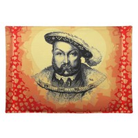King Henry VIII Placemat Cloth Placemat