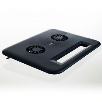 Kinyo Compact Laptop Cooling Pad - USB Dual Fan