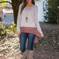 Darling Duo Top, Chestnut