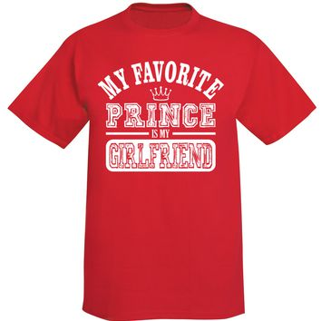 Granite Mountain - My Favorite Prince Is My Girlfriend Unisex T-Shirt
