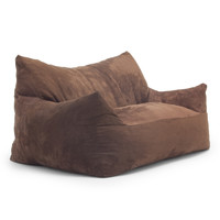 Chocolate Microsuede Imperial Fufton