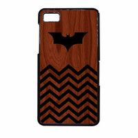 Batman And Black Chevron BlackBerry Z10 Case