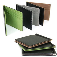 New Mens Wallet Card Coin Purse Pockets Bifold Money Clip Leather Holder Wallets D_L = 1708607300