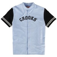 Crooks & Castles Big League Baseball Jersey - Men's at CCS