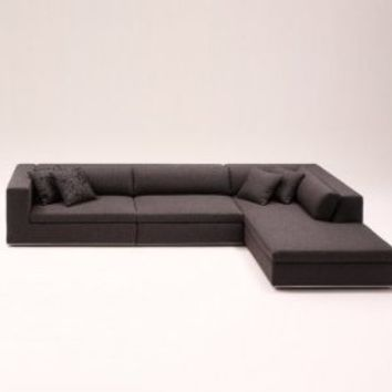 EXCLUSIVE MODERN FURNITURE EDITION #5: Hans Waël Modern sectional Sofa Karl