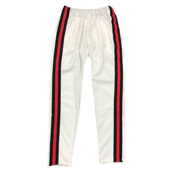 """ByKiy Track Pant """"Italy"""" Edition """"White"""""""