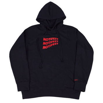 [모티패스트] Motifest - Garments Flag Hood (Navy) > 남성 | 힙합퍼