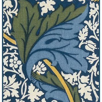 Kennet Design Detail 3 by Arts and Crafts Movement Founder William Morris Counted Cross Stitch or Counted Needlepoint Pattern - Counted Cross Stitch