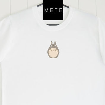 Totoro Lovers, Studio Ghibli , Funny T-Shirt, Quote T-Shirt, Unique, Unisex T-Shirt,  T-Shirt saying, Tumblr T-Shirt, Gifts for Him and Her