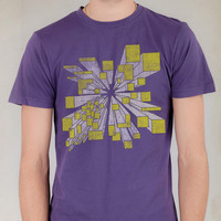Geometric Perspective Graphic Tee