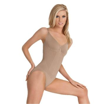 Seamless Microfiber Postpartum Cami Body Shaper with Slimming Support